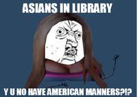 Азиаты в библиотеке: США и расизм